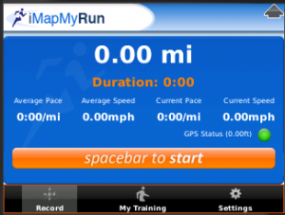 iMapMyRun Screenshot