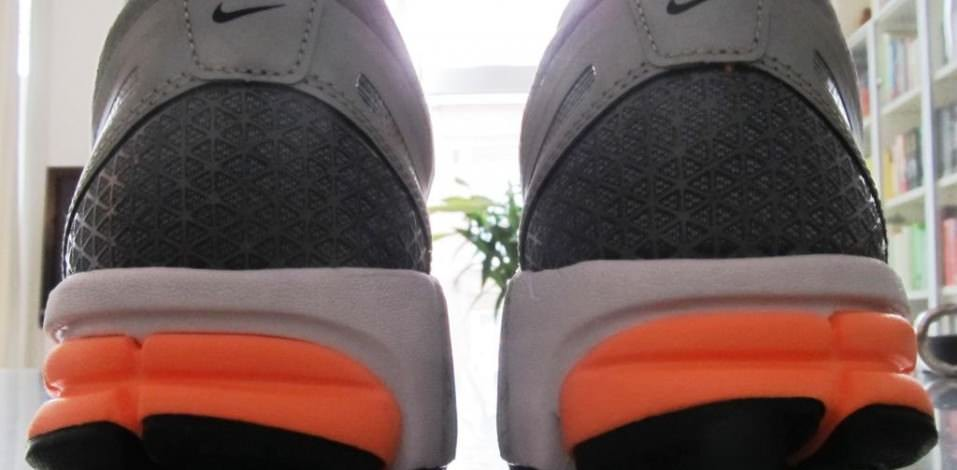 Nike Zoom Structure Triax 15 -Heel Detail