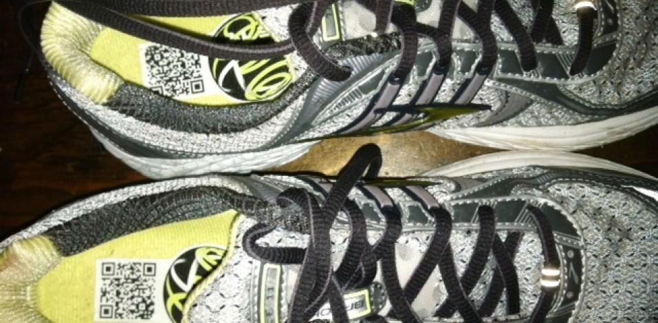 Brooks Trance 11 - Pair View Upper