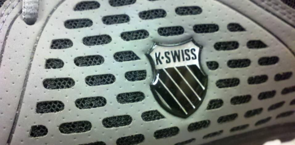 K-Swiss Blade Foot Run - Detail and Logo