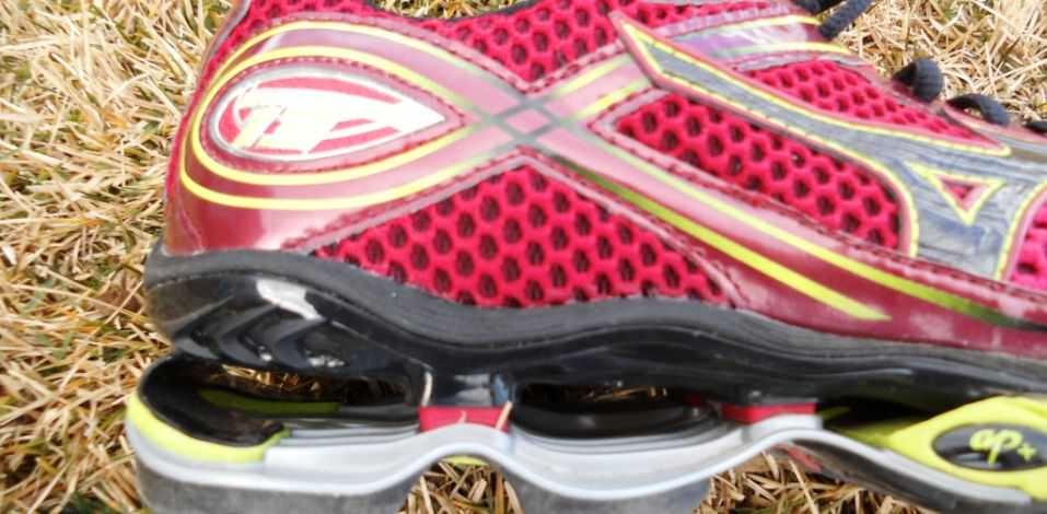 Mizuno Wave Creation 13 - Detail of the Heel
