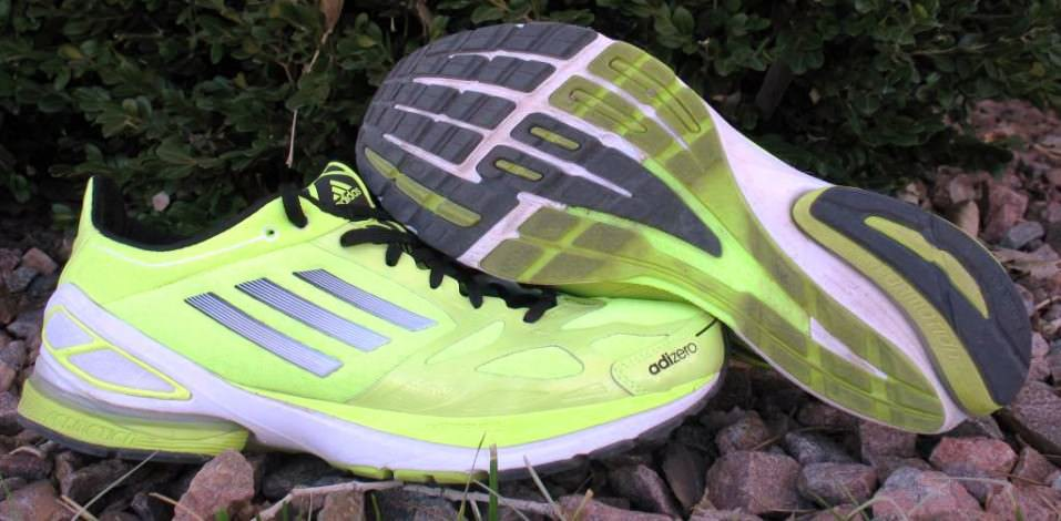 Adidas Adizero F50 2 - Pair View Lateral and Outsole