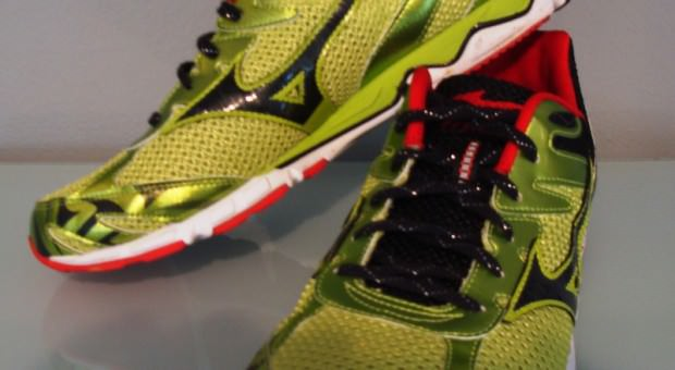 Mizuno Wave Musha 4 - Front and Medial View