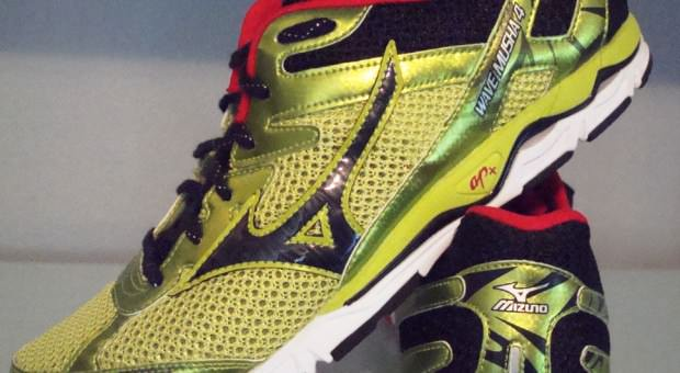 Mizuno Wave Musha 4 - Lateral View