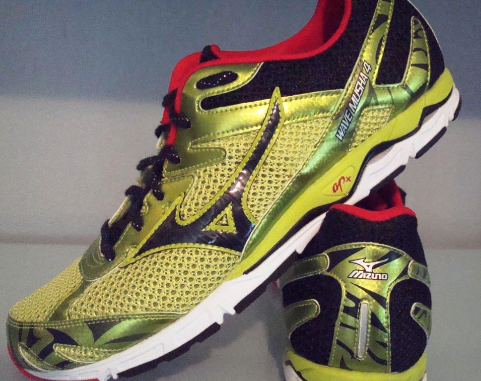Mizuno Running Logo Mizuno Wave Musha 4 Running