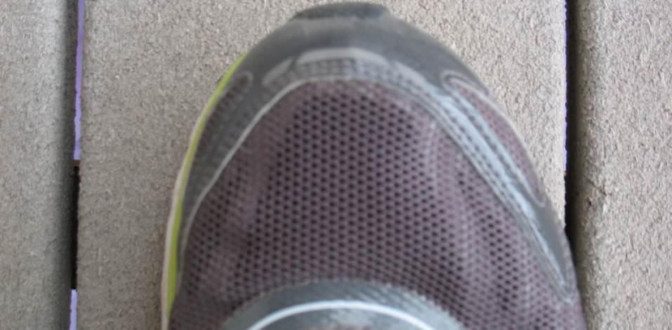 Adidas Adizero Rush - Toebox