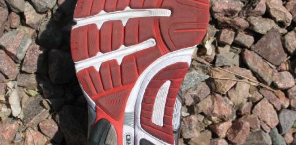 Saucony Hurricane 14 - Outsole