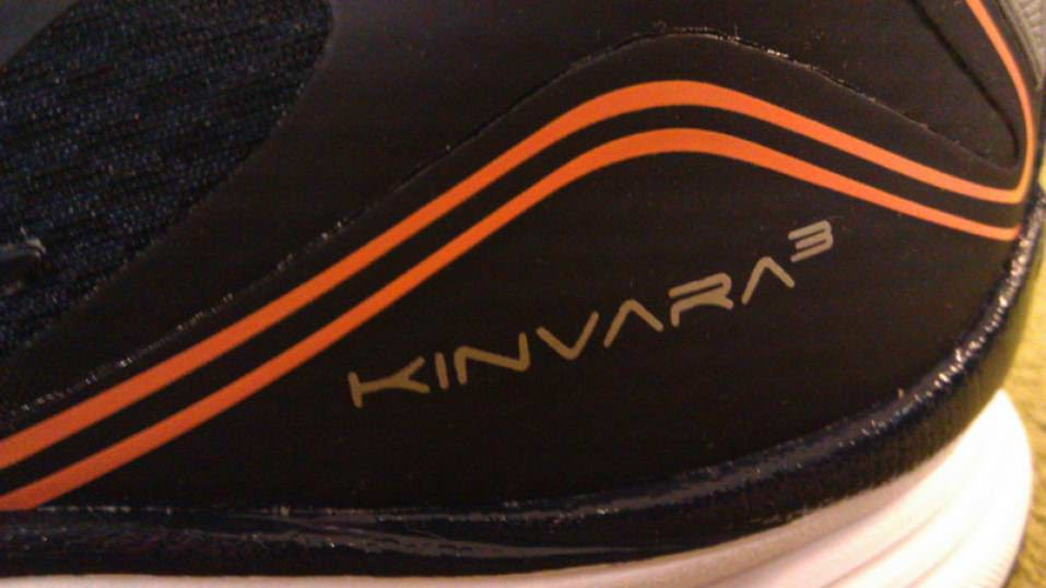 Saucony Kinvara 3 - Heel Detail