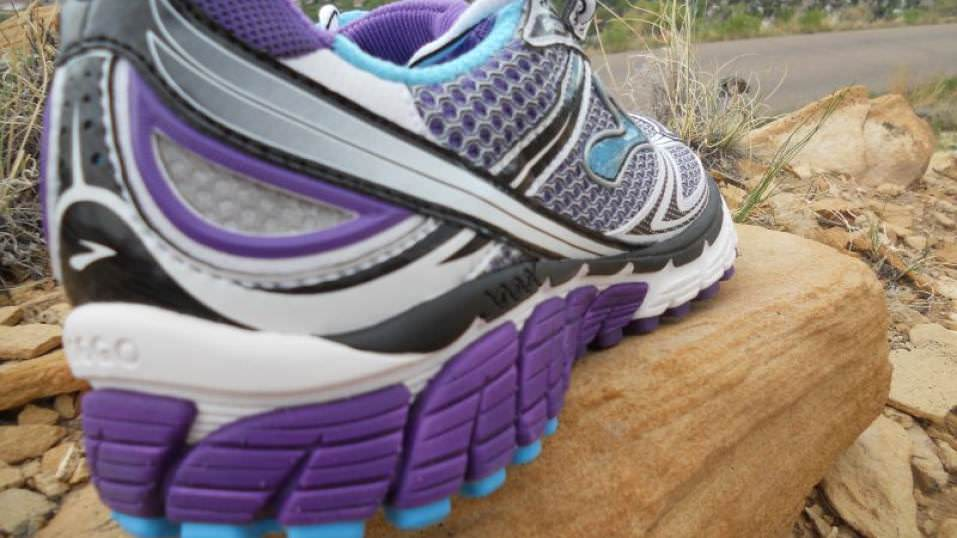 Brooks Ghost lateral heel