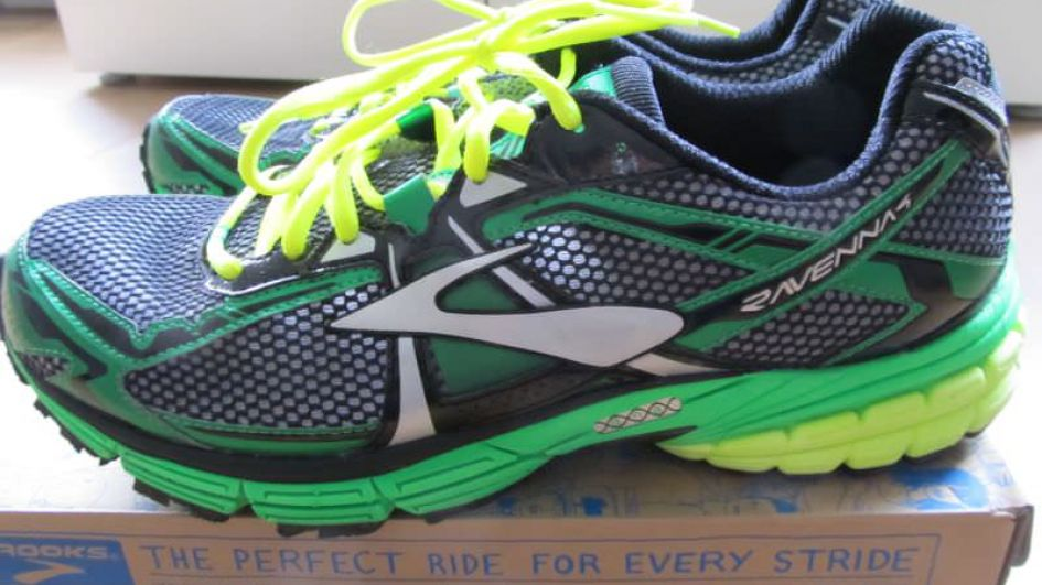 Brooks Ravenna 4 - Lateral View