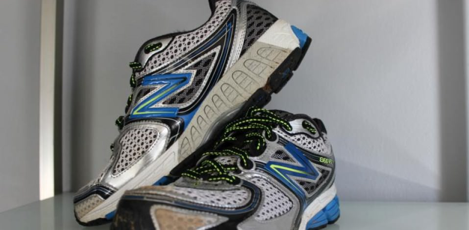 New Balance 860V3 - Medial Side
