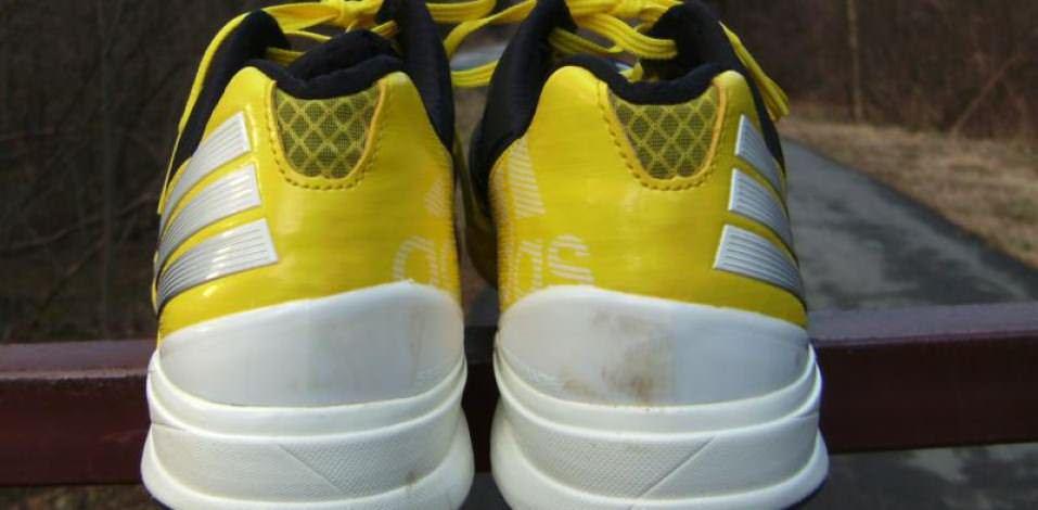 Adidas Crazy-Fast Trainer - Heel