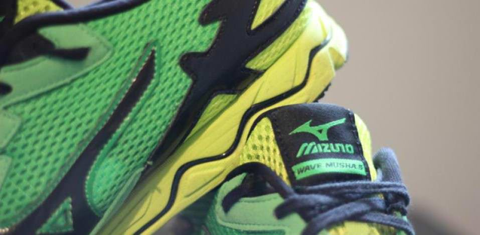 Mizuno Wave Musha 5 - Medial Side