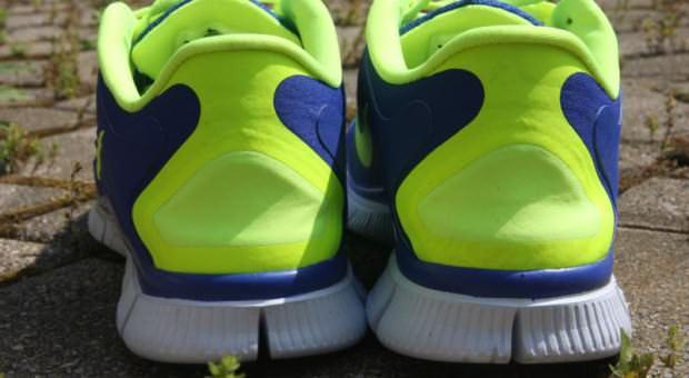 Nike Free 5.0 - Heel