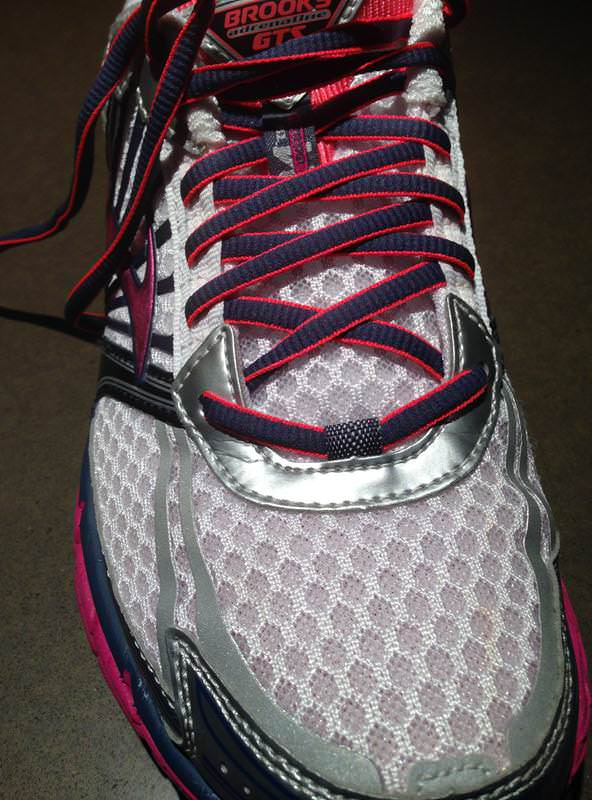 Brooks Women's Adrenaline GTS 10 Running Shoe,Chanbray/Midnight Fog/White/Silver,5 US 2A