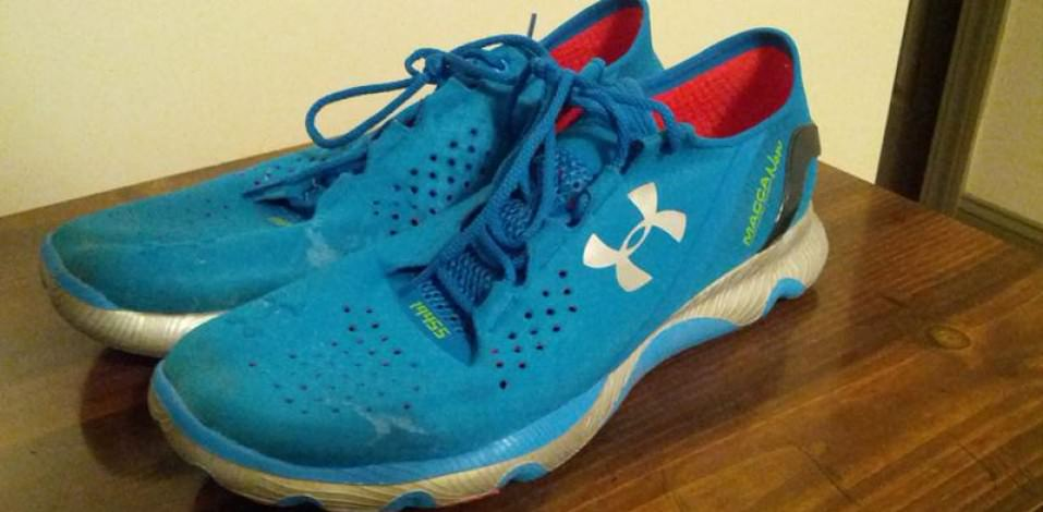 Under Armour Speedform RC - Medial Side