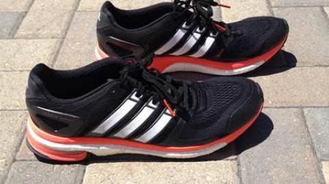 premium selection b64ec 70a47 Adidas Adistar Boost 2 - Medial Side