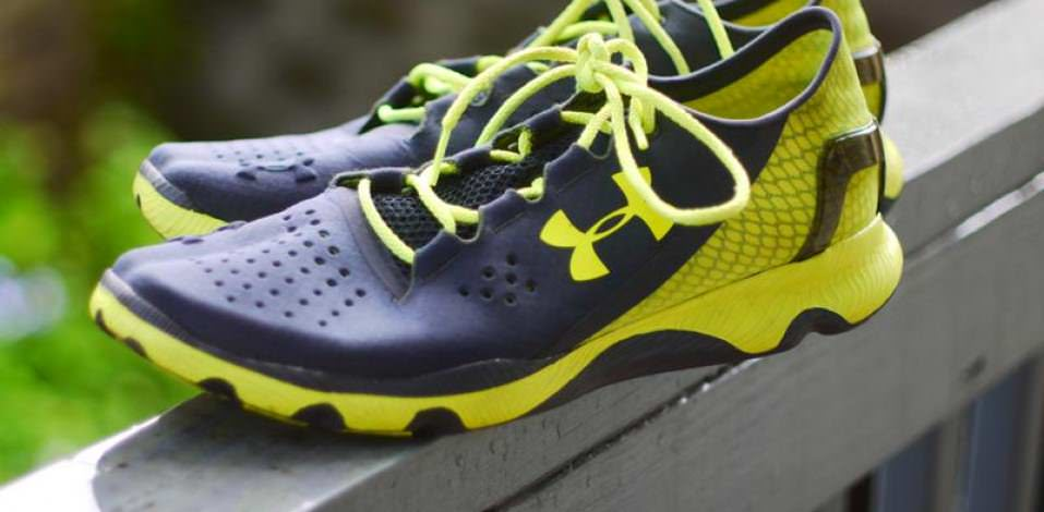 Under Armour SpeedForm Apollo - Medial Side