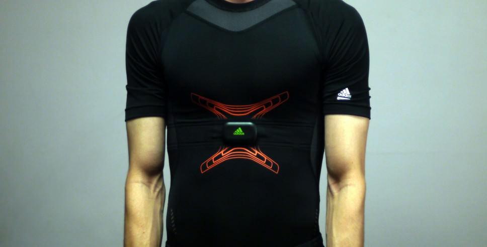 NuMetrex Adidas miCoach Men's Training Shirt, Short Sleeve
