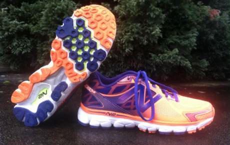 new balance mens m630 v2 minimalist running shoes blue/green