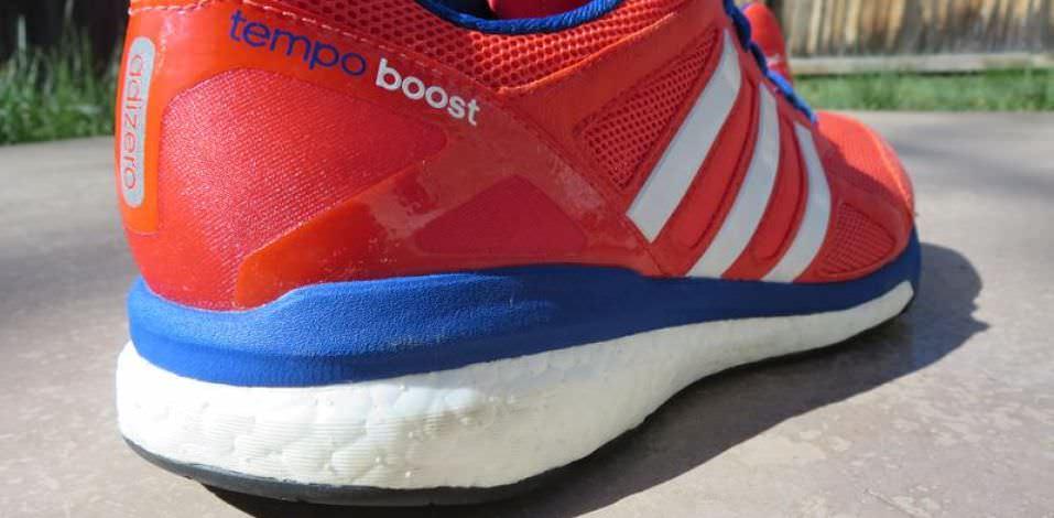 Adidas Adizero Tempo Boost 7 - Heel