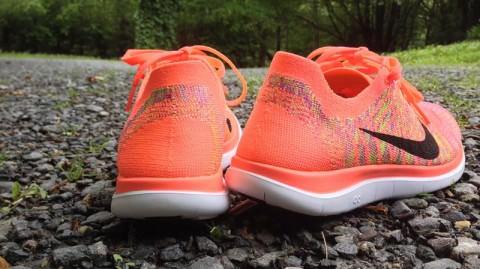 best sneakers 9cdbc 1f52c Nike Free Flyknit 4.0 - Heel