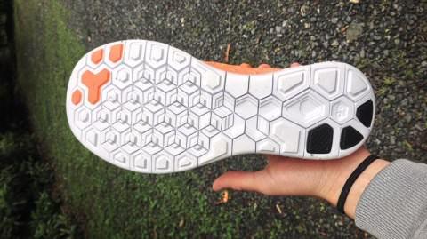 detailed look b2416 8c5ac Nike Free Flyknit 4.0 - Sole