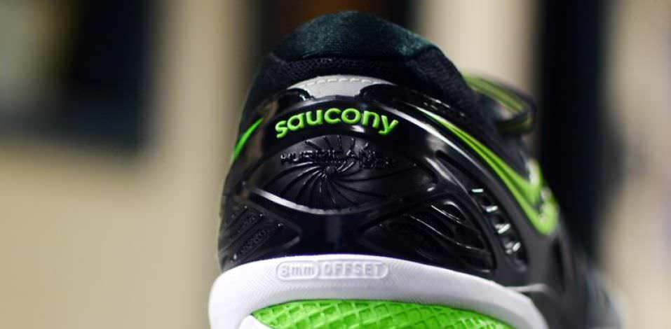 Saucony Hurricane ISO 2 - Heel