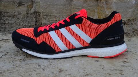 hot sale online 91c07 e8806 Adizero Adios Boost 3 - Lateral Side