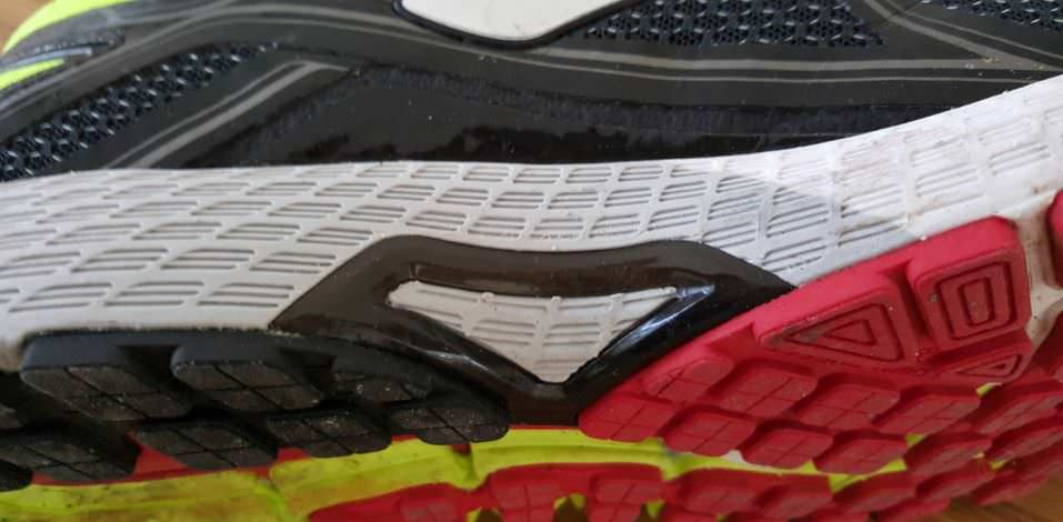 Brooks Adrenaline GTS 16 - Shank Detail