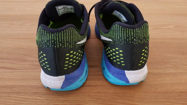 Nike Zoom Structure 19 - Heel View