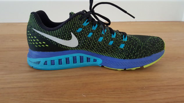 Nike Zoom Structure 19 - Medial Side View