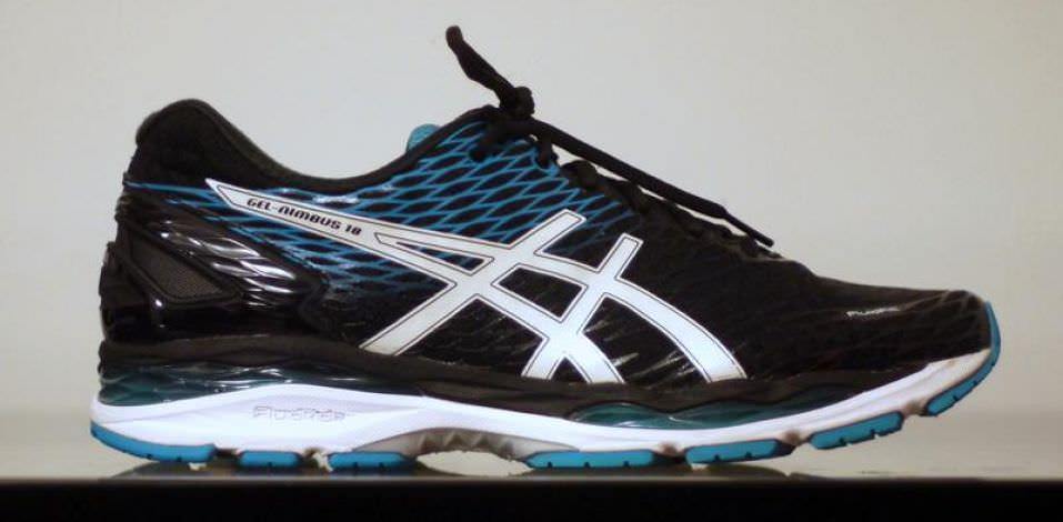 Asics GEL-Nimbus 18 - Lateral Side