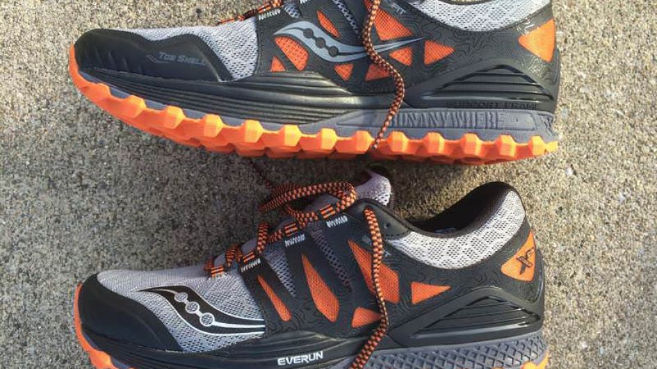 Saucony Xodus ISO - Medial Side