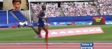 Mo Farah Running in Slow Motion: Running Technique Analysis [Video]
