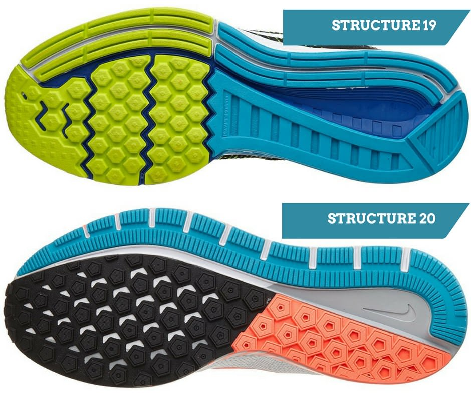nike structure 20