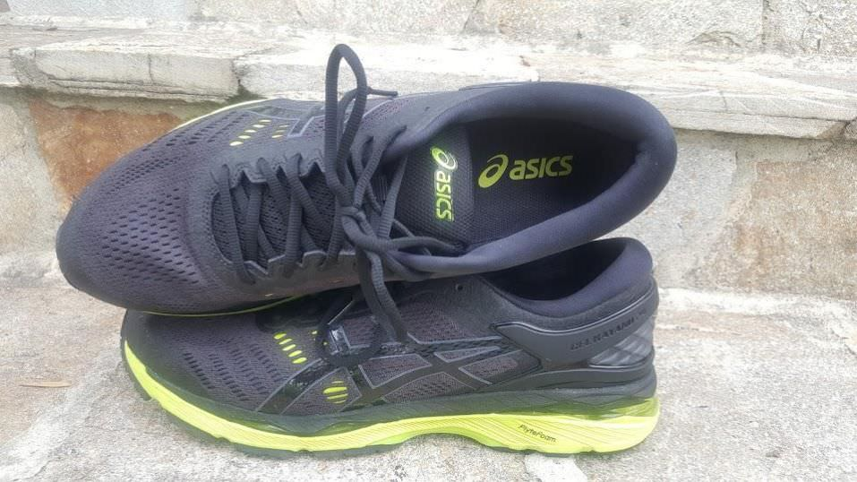 Asics Gel Kayano 24 - Lateral Side and Top