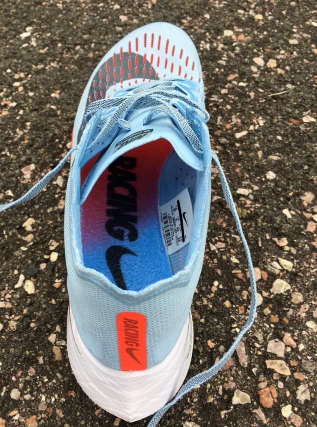 Nike Zoom Vaporfly 4% - Inside