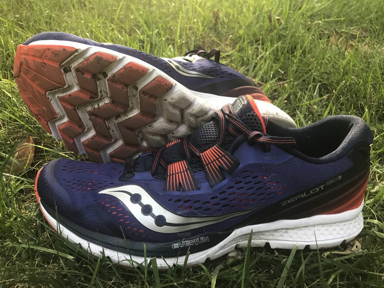 saucony zealot shoes review