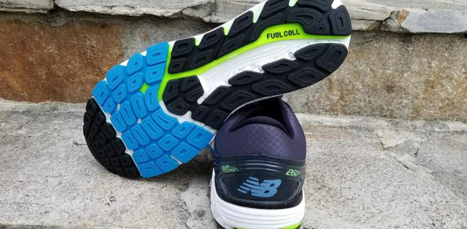 New Balance 1260v7 - Sole and Heel