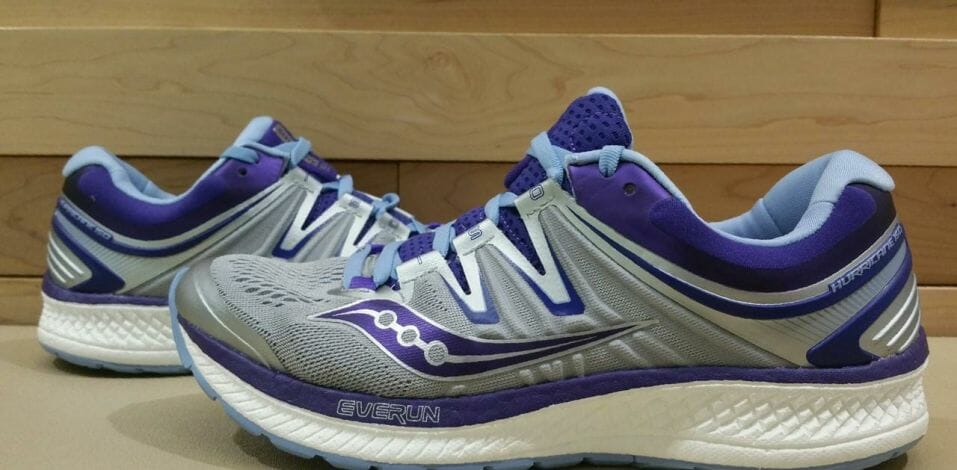 Saucony Hurricane ISO 4 - Lateral Side