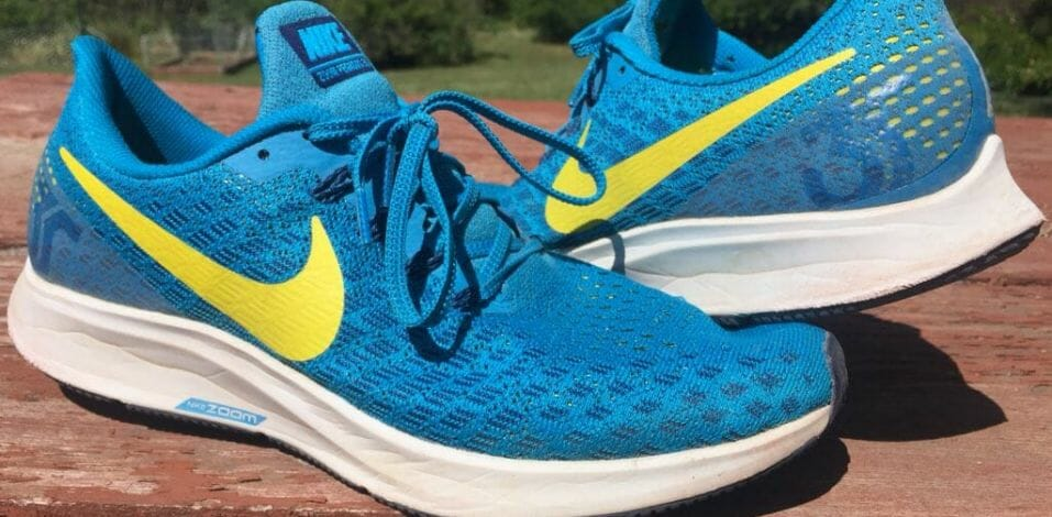 Nike Zoom Pegasus 35 - Lateral and Medial Side