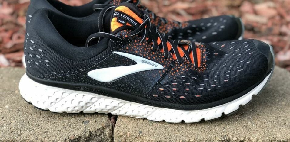 Brooks Glycerin 16 - Lateral Side