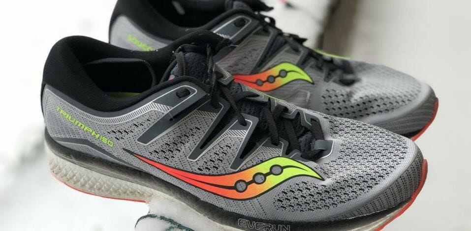 Saucony Triumph ISO 5 - Lateral Side