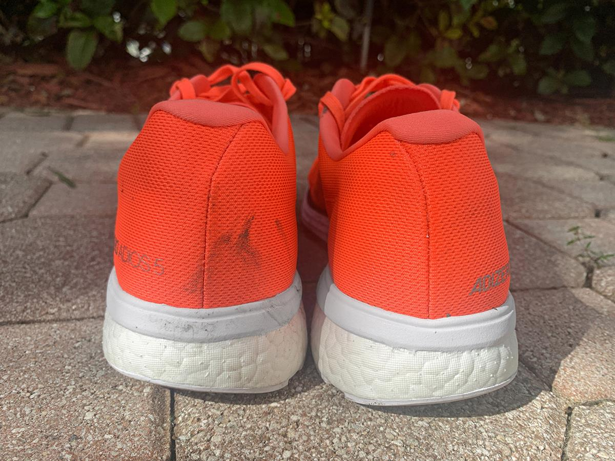Adidas Adizero Adios 5 - Heel
