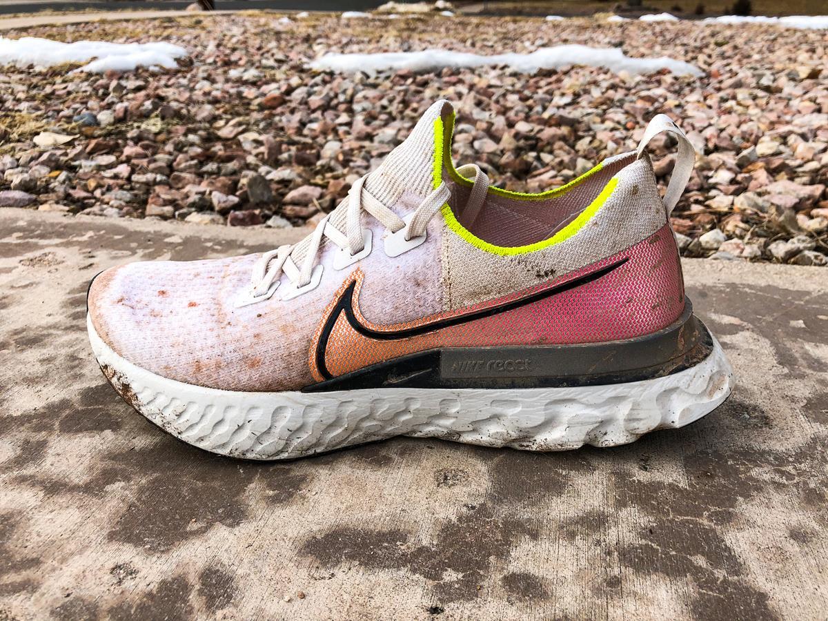 Nike React Infinity Run Flyknit - Lateral Side