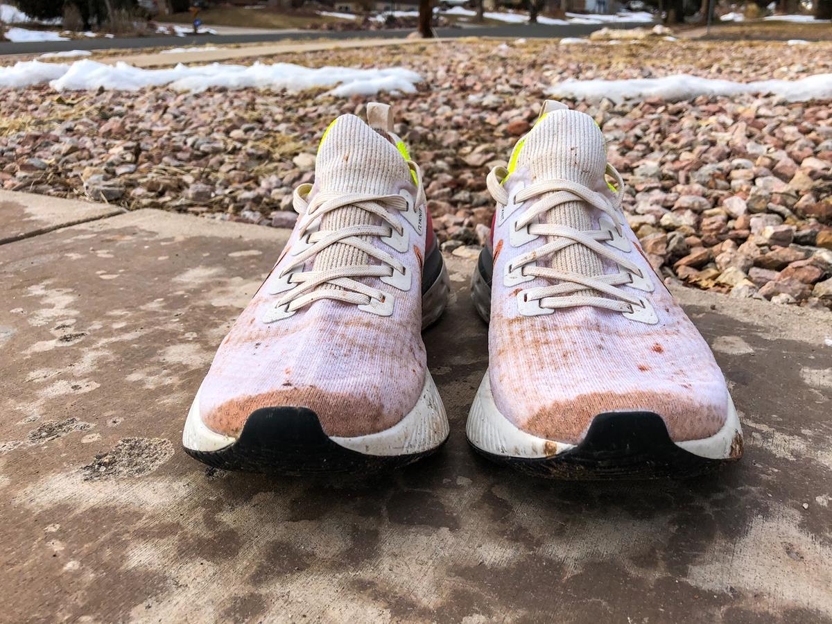 Nike React Infinity Run Flyknit - Toe