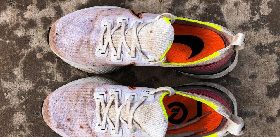 Nike React Infinity Run Flyknit - Top