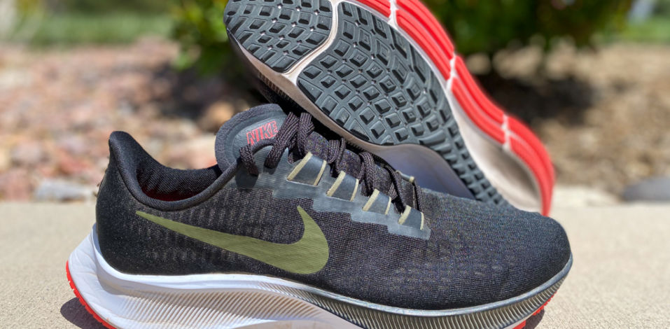 Nike Zoom Pegasus 37 - side and sole