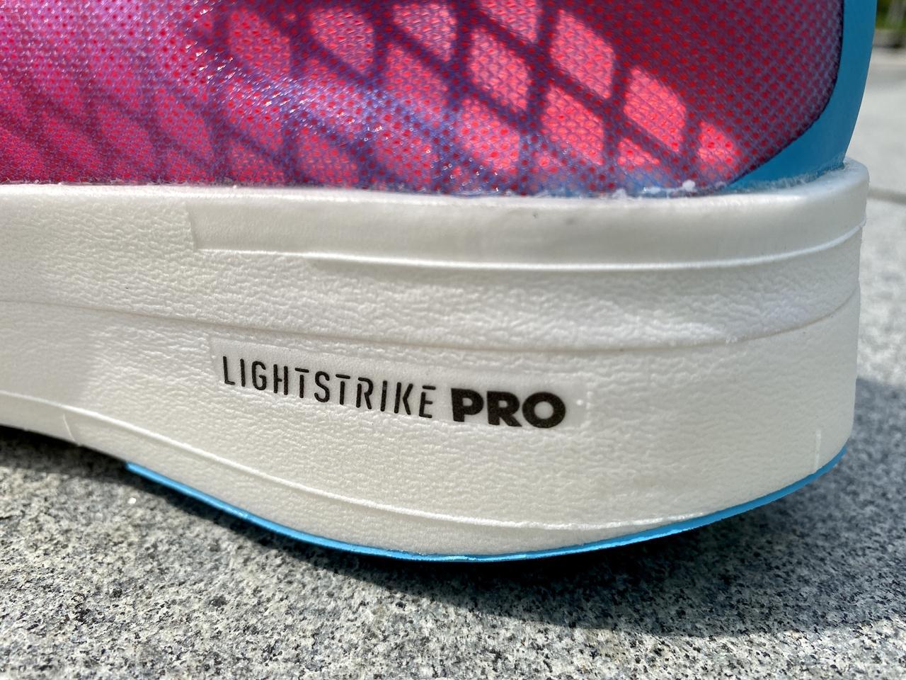 Adidas Adizero Adios Pro - Closeup-Lateral Side